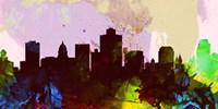 Salt Lake City Skyline Fine Art Print