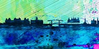 Amsterdam City Skyline Fine Art Print