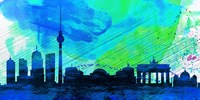Berlin City Skyline Fine Art Print