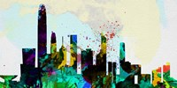 Hong Kong City Skyline Fine Art Print