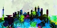 Shanghai City Skyline Fine Art Print