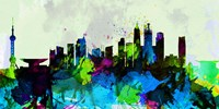 Shanghai City Skyline Fine Art Print