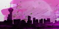 Vancouver City Skyline Fine Art Print
