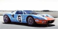 Ford GT 40 Gulf Fine Art Print