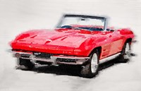 1964 Corvette Stingray Framed Print