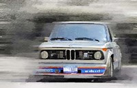 1974 BMW 2002 Turbo Fine Art Print