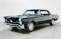 1966 Pontiac GTO Fine Art Print