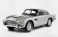 1964 Aston Martin DB5 Fine Art Print