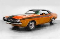 1968 Dodge Challenger Fine Art Print