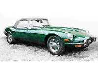1961 Jaguar E-Type Fine Art Print