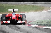 Ferrari F1 on Track Fine Art Print