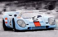 Porsche 917 Gulf Fine Art Print