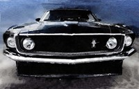 1968 Ford Mustang Shelby Front Framed Print