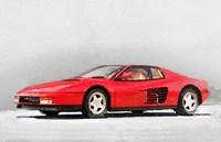 1983 Ferrari 512 Testarossa Fine Art Print
