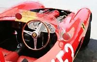 Ferrari Cockpit Monterey Framed Print