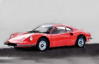 Ferrari Dino 246 GT Fine Art Print