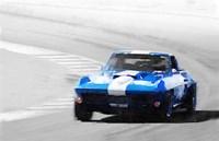 Corvette Stingray Laguna Seca Fine Art Print