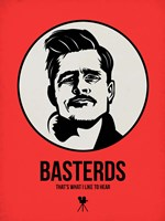 Basterds 2 Framed Print