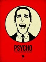 Psycho 1 Framed Print
