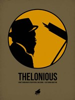 Thelonious 2 Fine Art Print