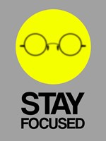 Stay Focused Circle 2 Fine Art Print