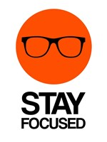 Stay Focused Circle 1 Fine Art Print