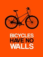 Bicycles Have No Walls 1 Fine Art Print