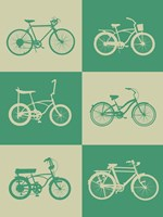 Bicycle Collection 4 Fine Art Print