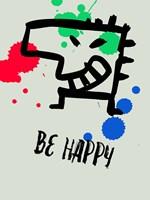 Be Happy 1 Fine Art Print