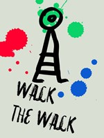 Walk The Walk 1 Fine Art Print