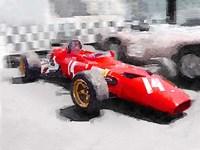Ferrari 312 Laguna Seca Fine Art Print