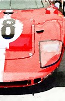 1964 Ford GT40 Front Detail Fine Art Print