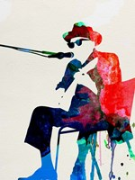 Johnny Lee Hooker Watercolor Fine Art Print
