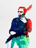 Lenny Watercolor Fine Art Print