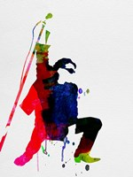 Bono Watercolor Fine Art Print