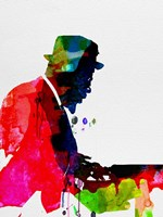 Thelonious Watercolor Fine Art Print