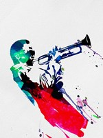 Miles Watercolor Fine Art Print