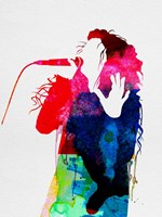 Lorde Watercolor Fine Art Print