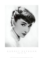 Audrey Hepburn - Screen Test, c.1955 Fine Art Print