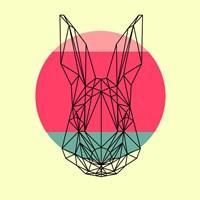 Rabbit and Sunset Fine Art Print