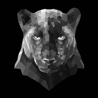 Black Panther Fine Art Print