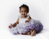 Sassie Baby Purple Fine Art Print