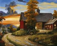 Farm Scene Fine Art Print