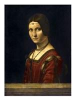 La Belle Ferroniere Fine Art Print
