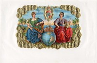 Vintage Cigar Label III Fine Art Print