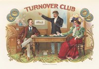 Turnover Club Fine Art Print