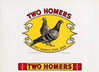 Two Homers Fine Art Print