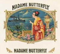 Madame Butterfly Fine Art Print