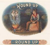 The Round-Up Fine Art Print