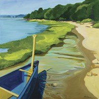 Afternoon Canoe Ride Fine Art Print